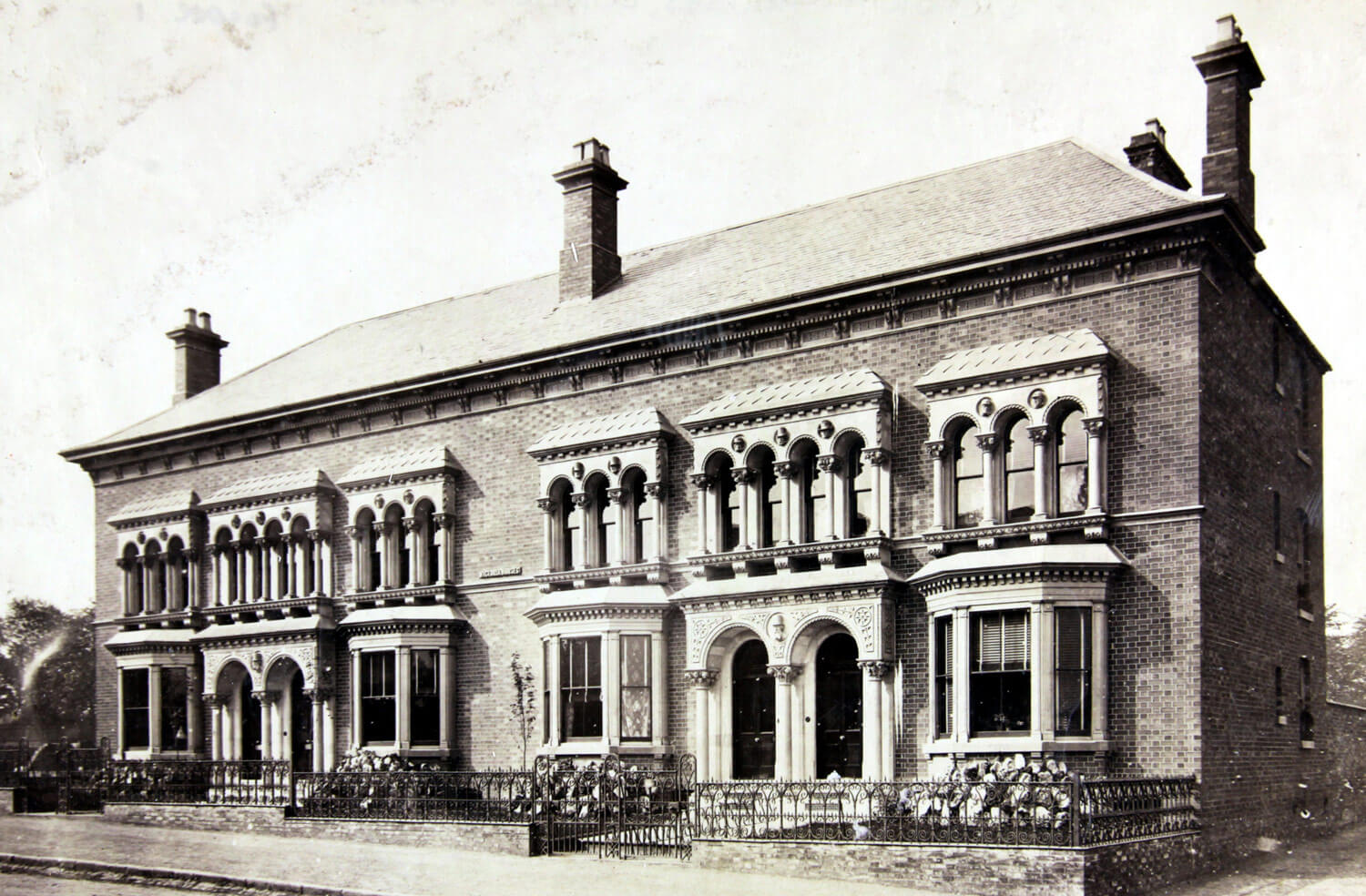 Victoria Terrace circa 1860s - Leicestershire Record Office
