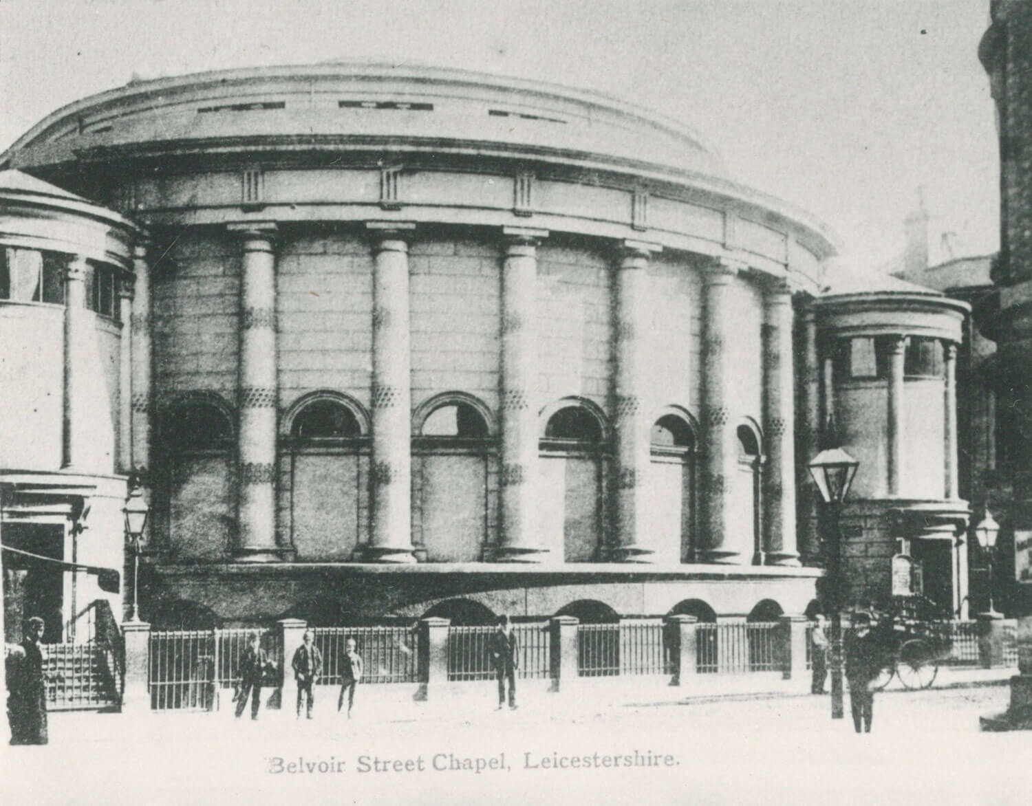 Belvoir Street Chapel, 1909 -