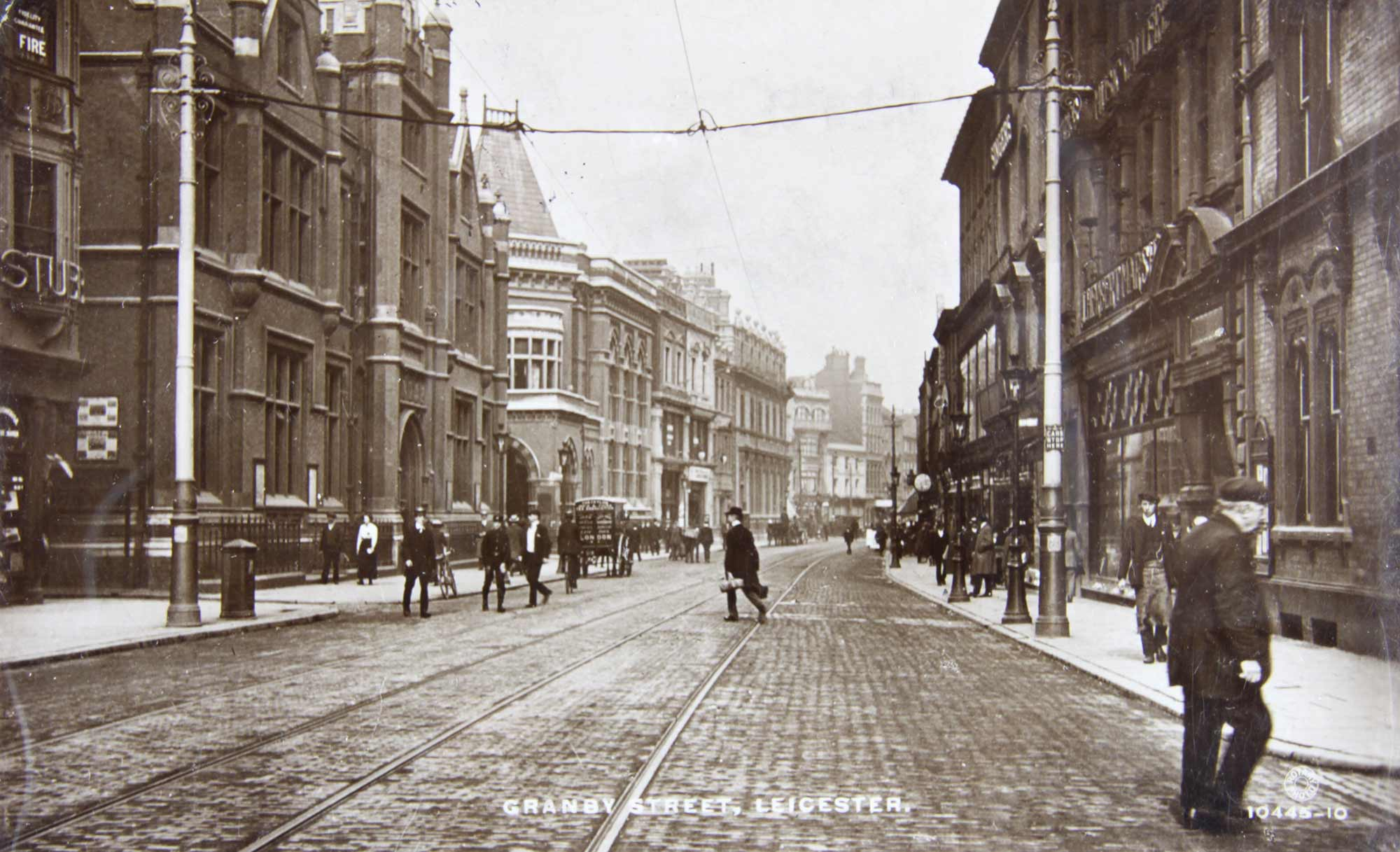 Granby Street  c.1910 - Leicester and Leicestershire Record Office