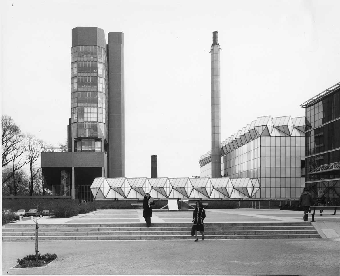 The Engineering Building in the 1970s - University of Leicester