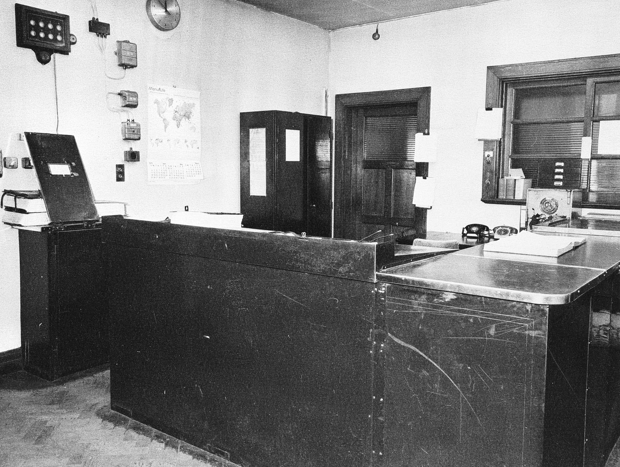 Charge office, 1976 - Leicestershire Record Office