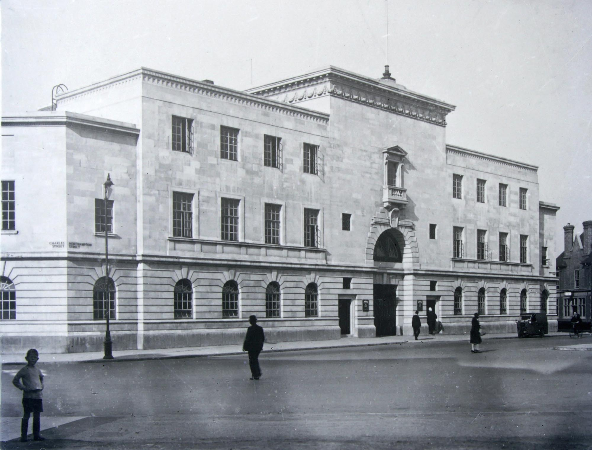 City Police Headquarters, 1930s - Leicestershire Record Office