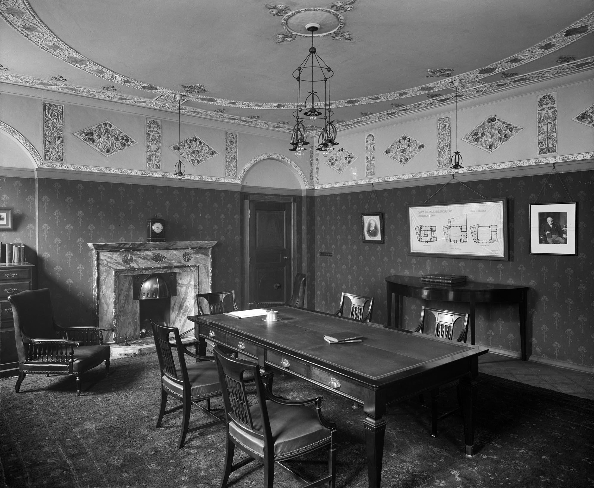 Pare's Bank, Board Room, 1904 - Historic England