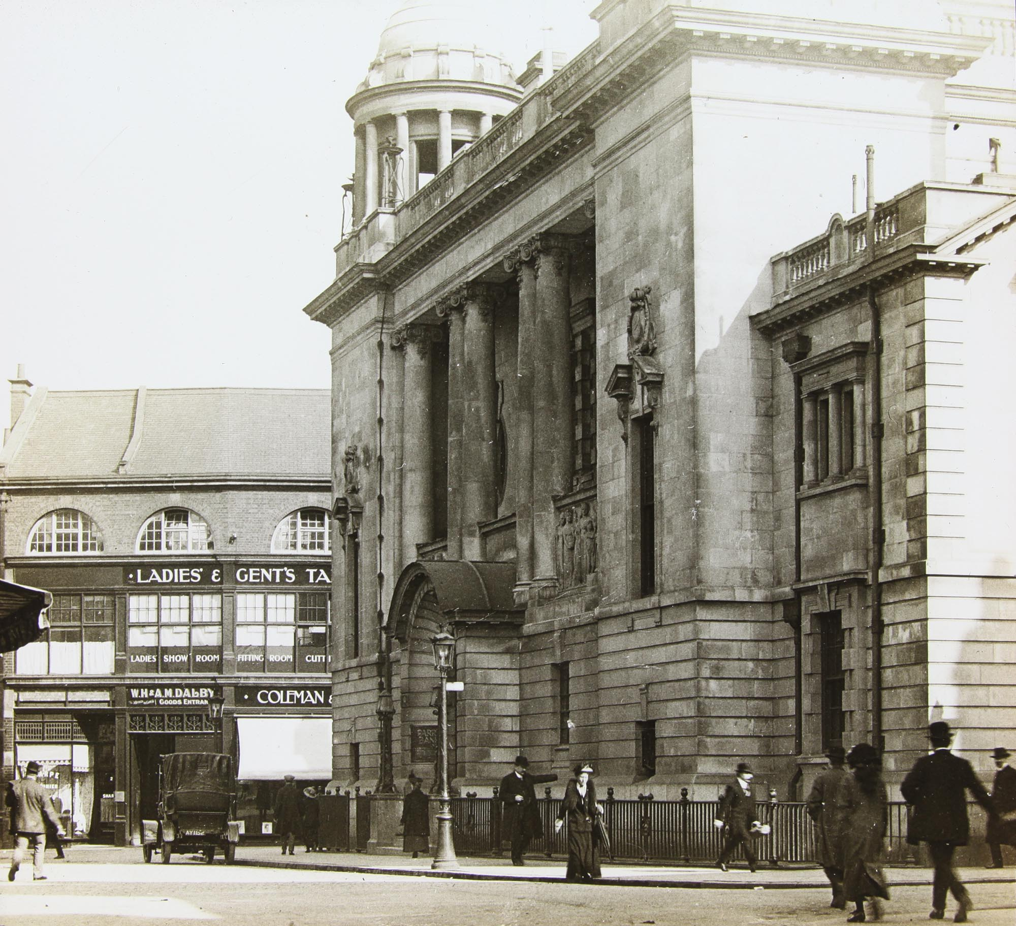 The exterior in 1905 -