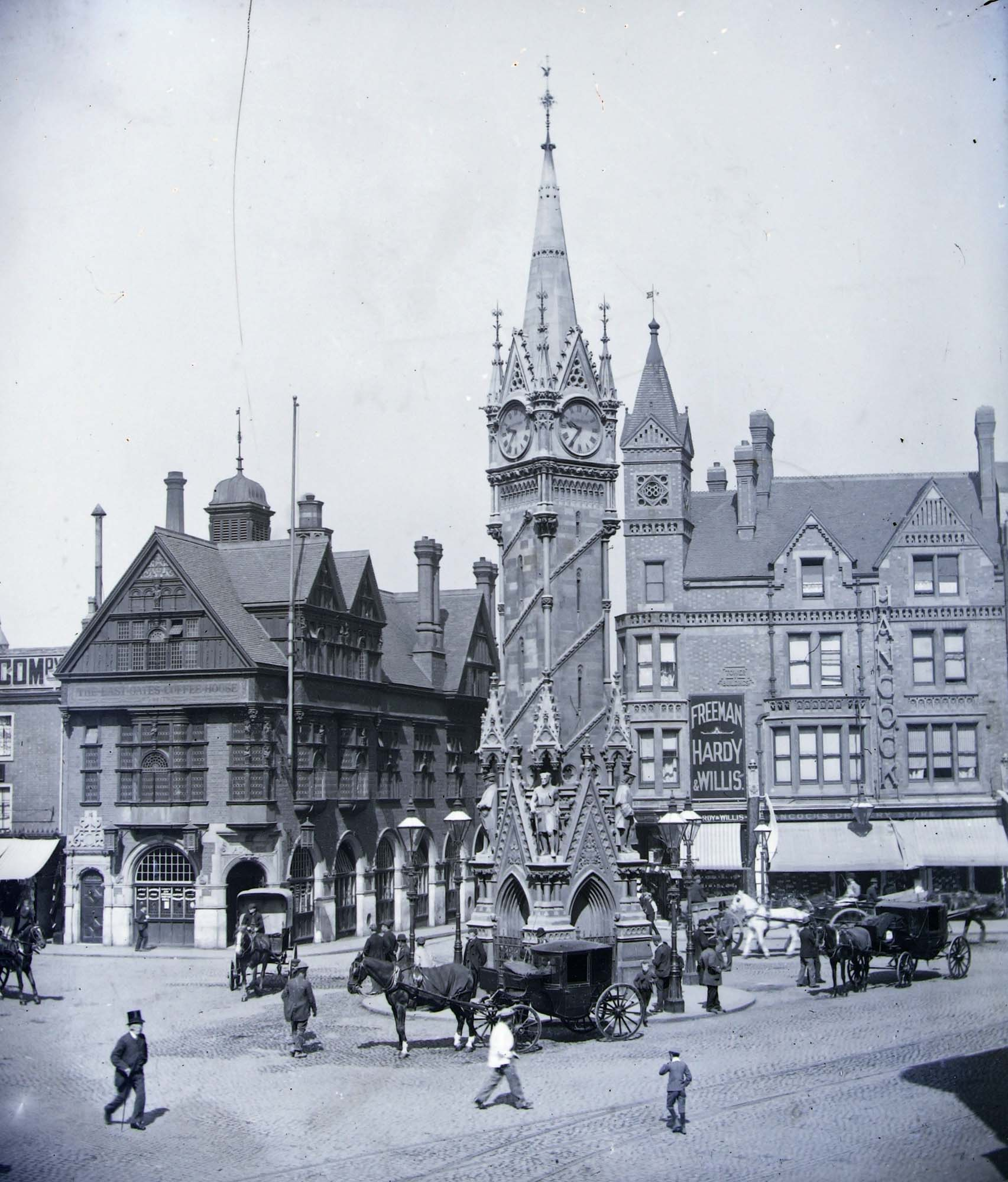 The Clock Tower c1910 - Leicestershire Record Office