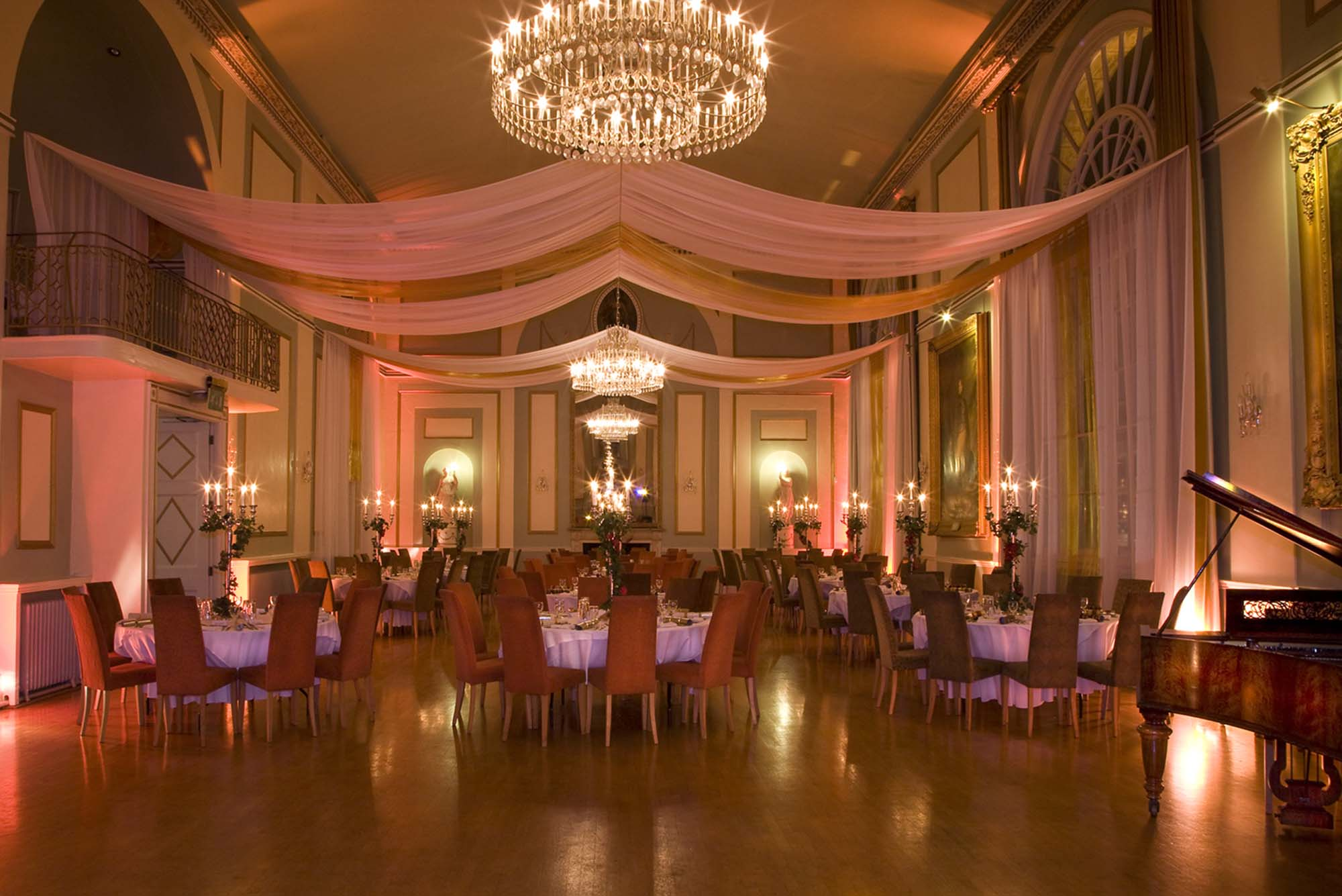 The first floor ballroom today -