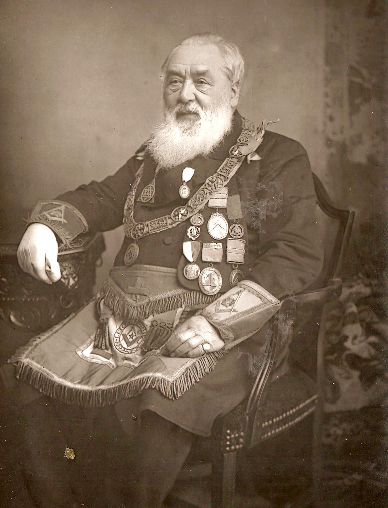 William Kelly, Provincial Grand Master, 1888 -
