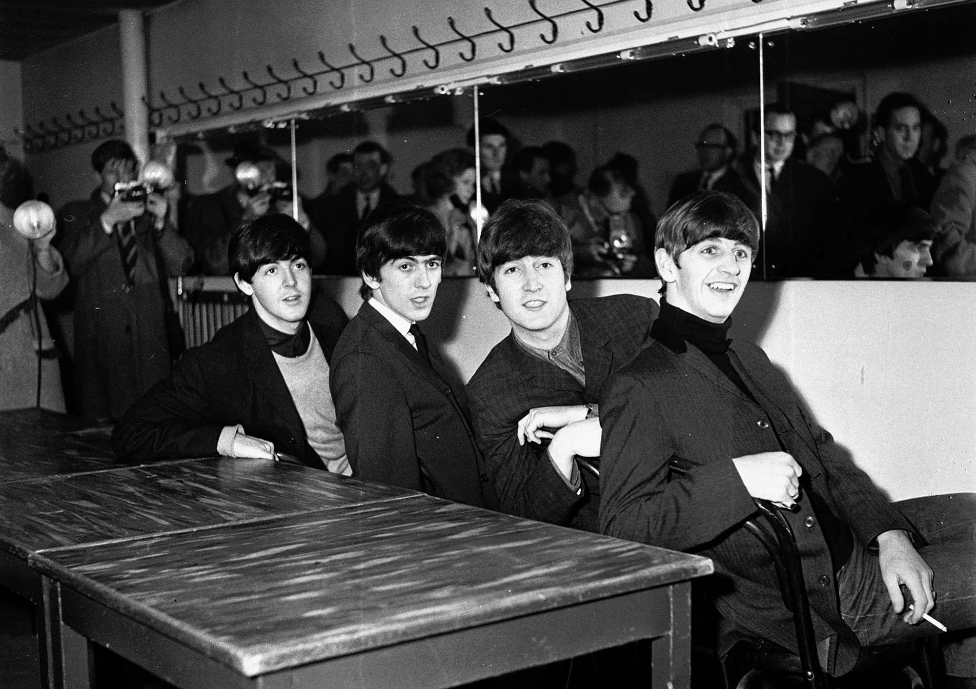 The Beatles at De Montfort Hall - Leicester Mercury