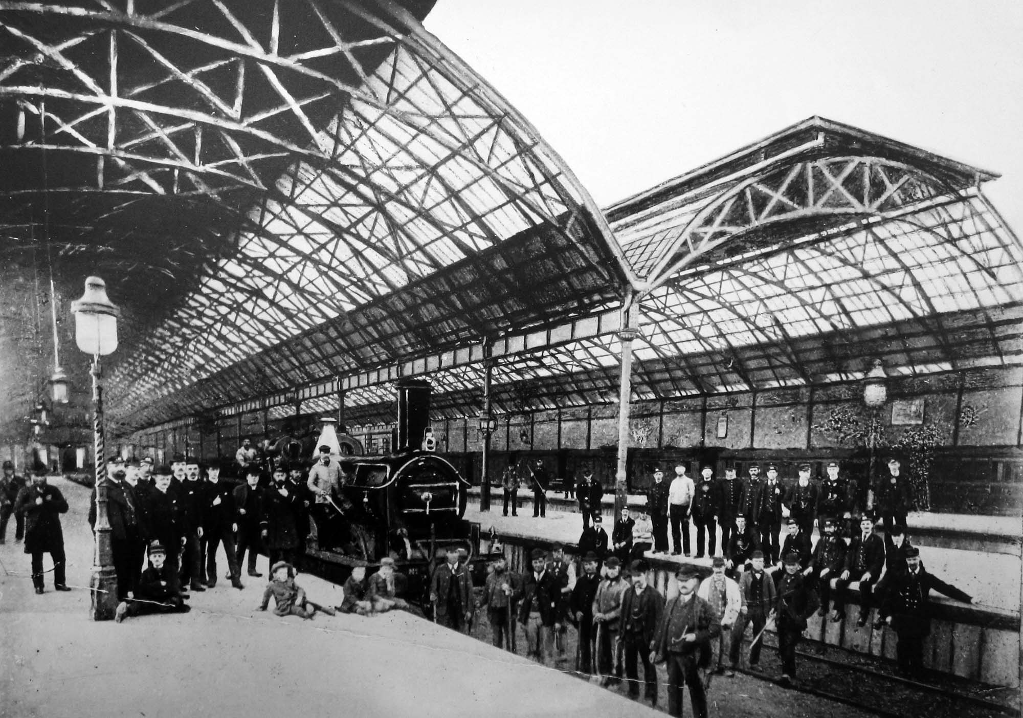 1882 may opening belgrave station
