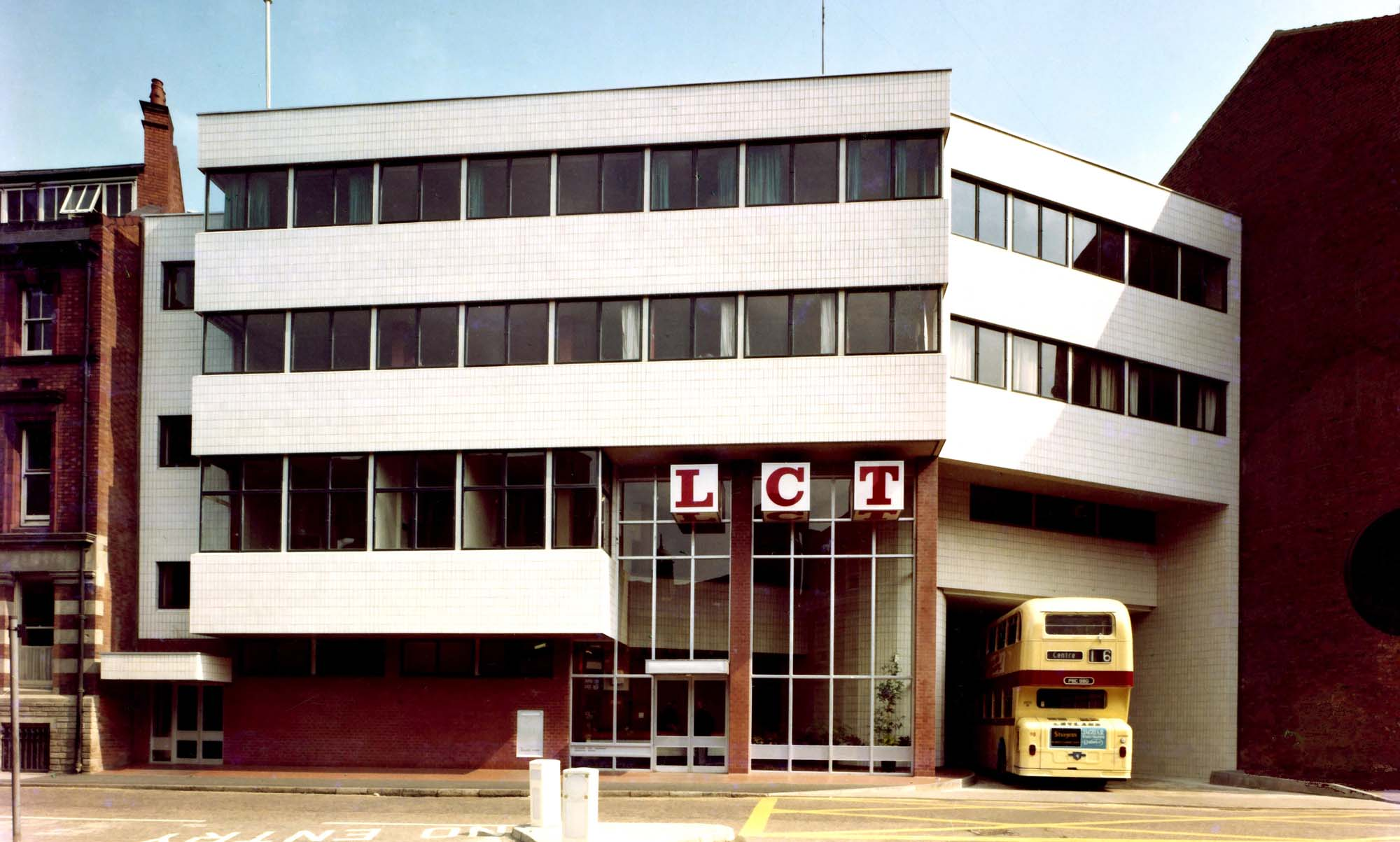 Leicester City Transport Operating Centre 1969 - Leicester Transport Heritage Trust, Rob Haywood and Keith Wood