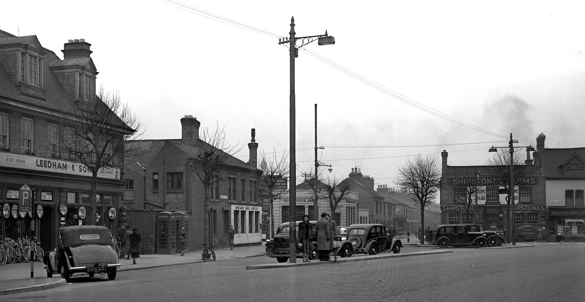 Narborough Road, seen here in 1952 is said to be the most diverse street in the UK -