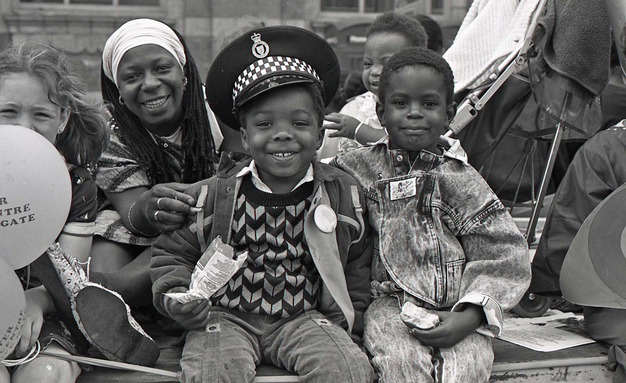 Leicester's annual Caribbean Carnival, seen here in 1987 -