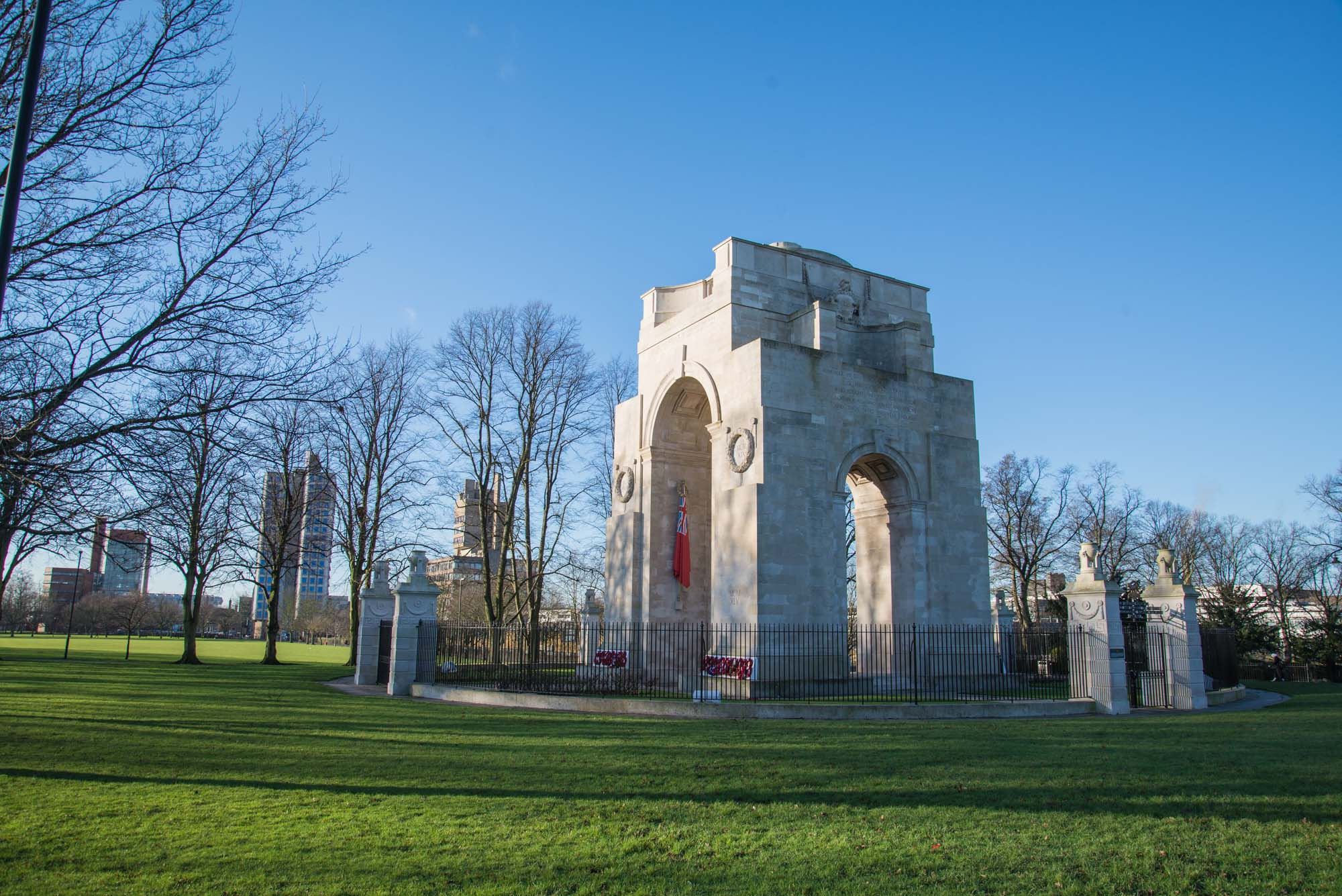 The Arch of Remembrance in 2015 -