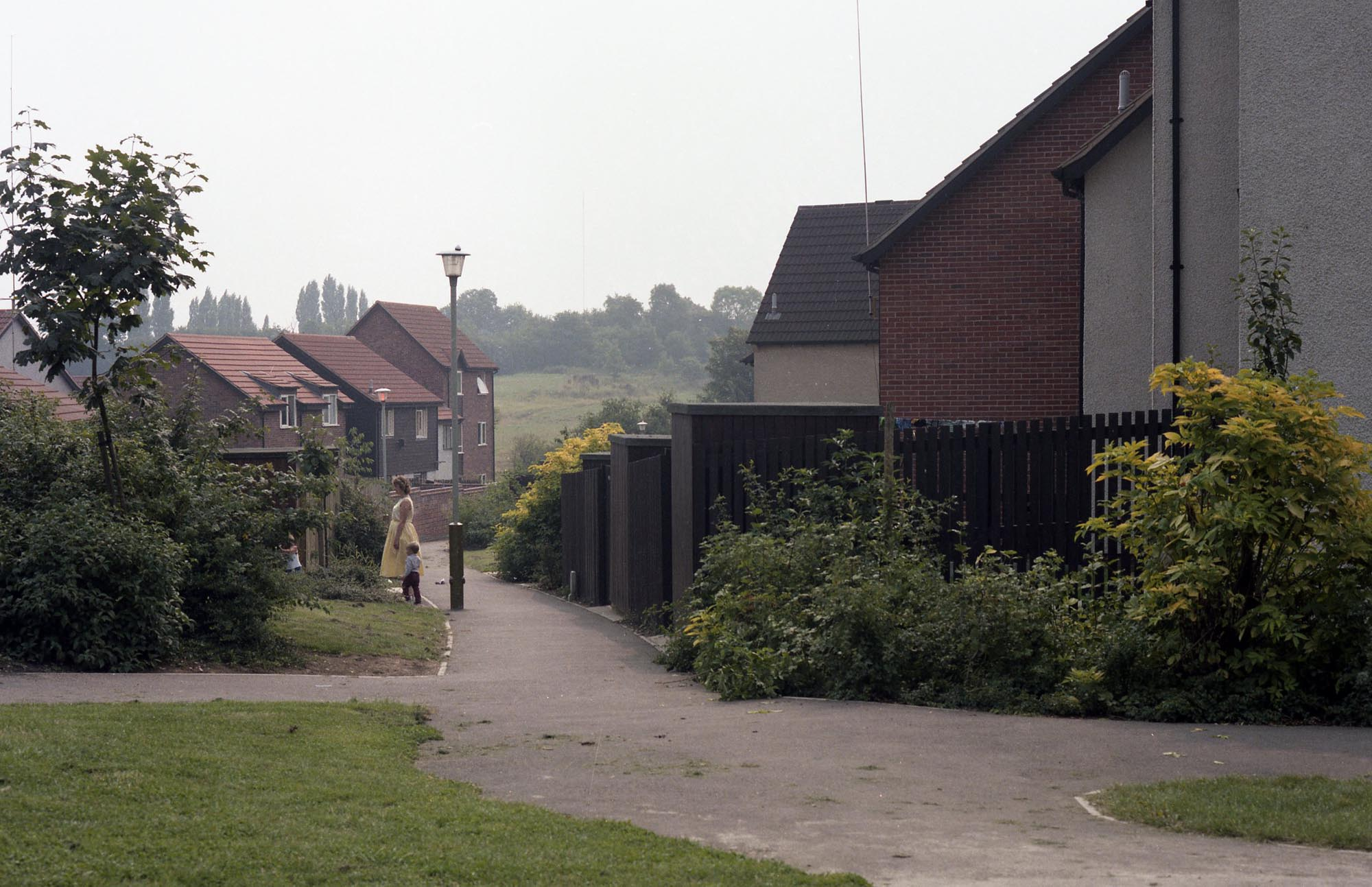 A more recent example social housing in Beaumont Leys, seen here in the 1990s -
