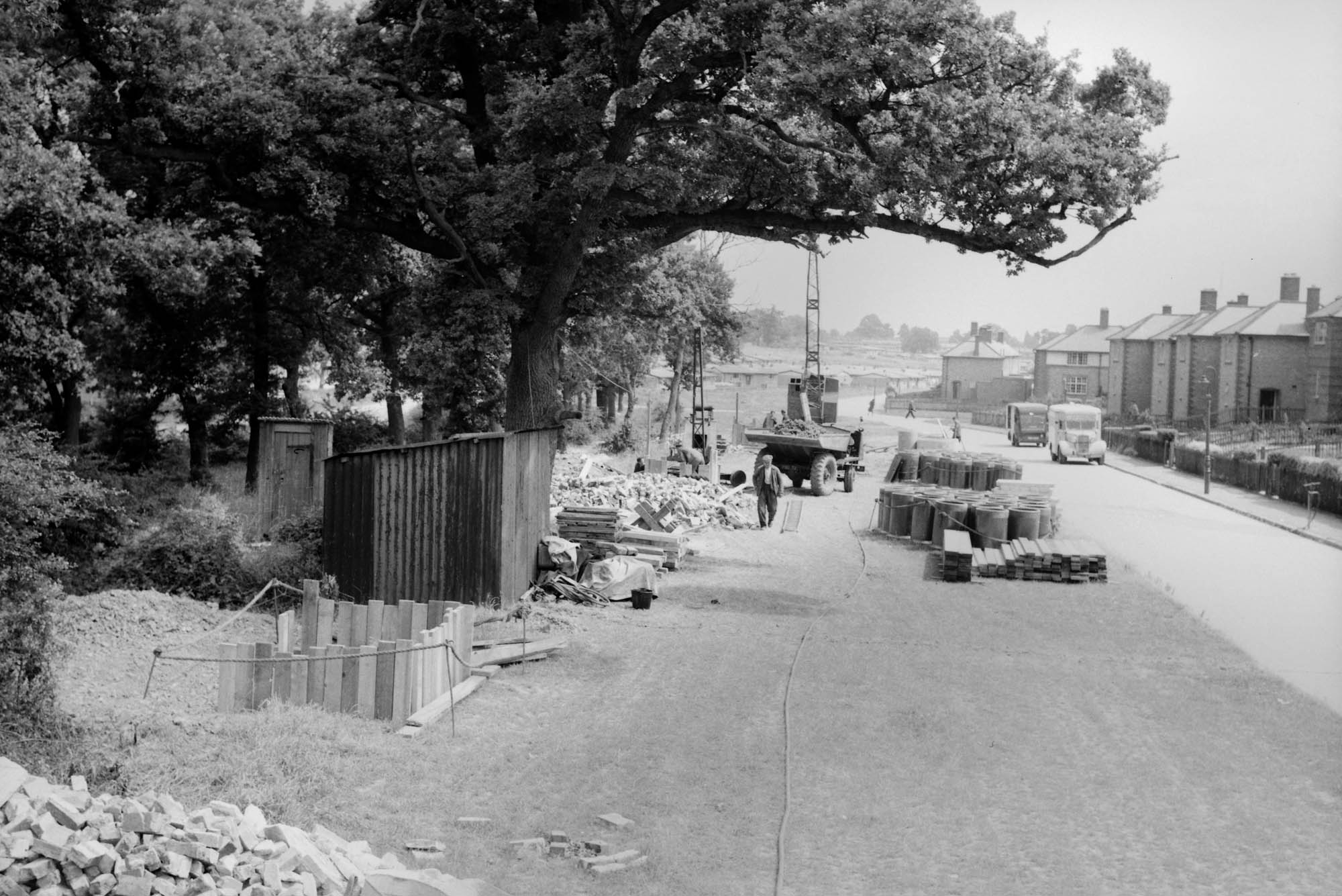 Hockley Farm Road, 1953 -
